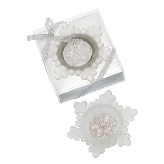 Kerzenset Eiskristall