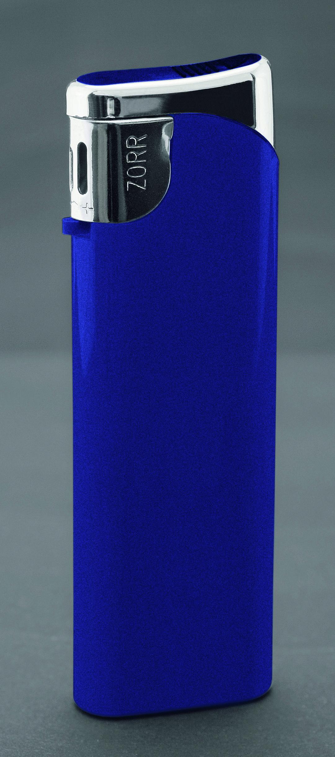 ZORR Slider blau metallic