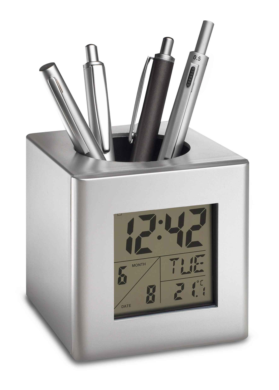 Stifthalter mit Uhr REFLE ...