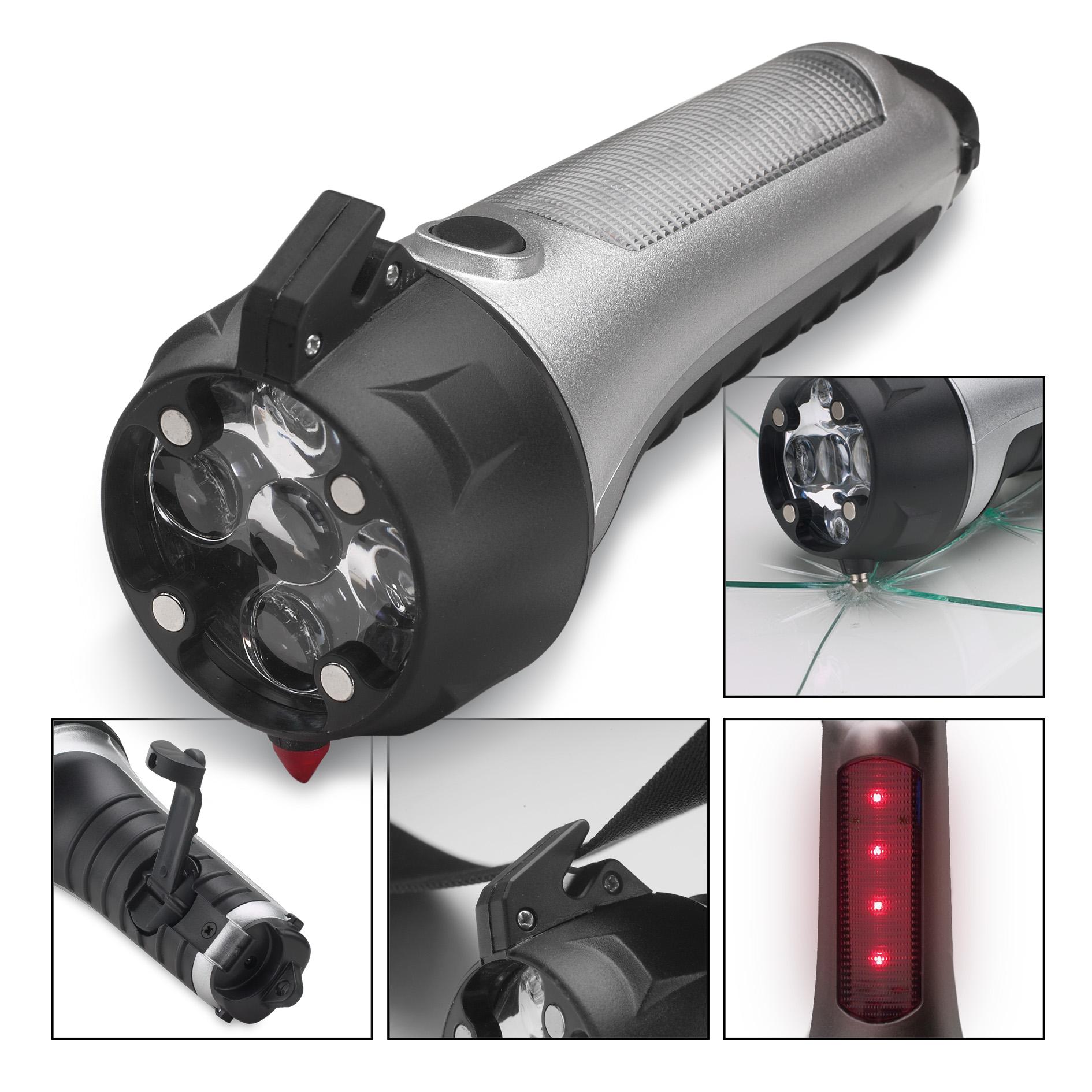 Taschenlampe mit Notfallw ...