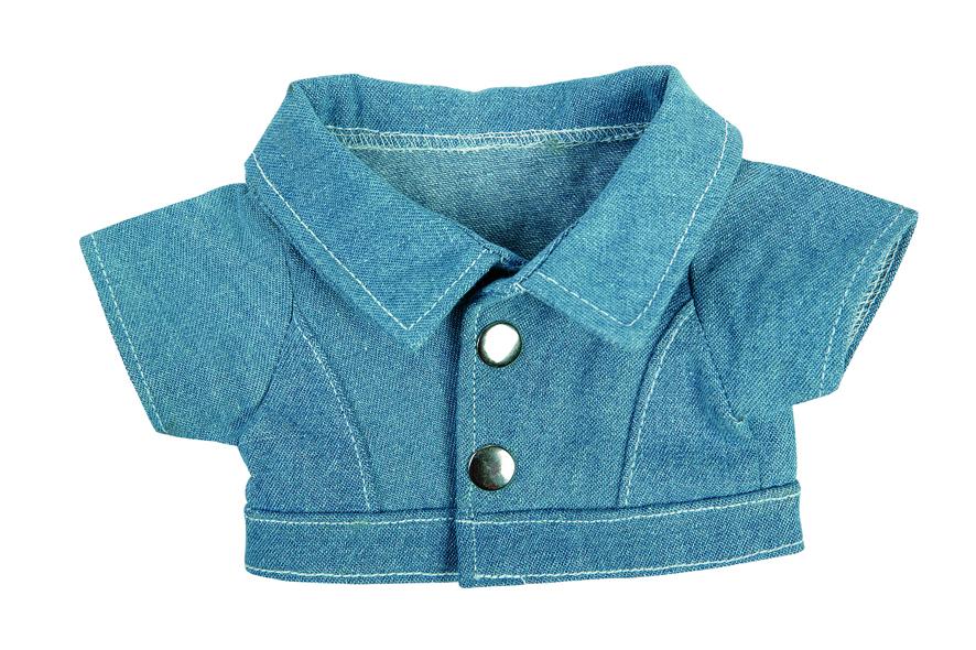 Jeans-Jacke für Plüscht ...