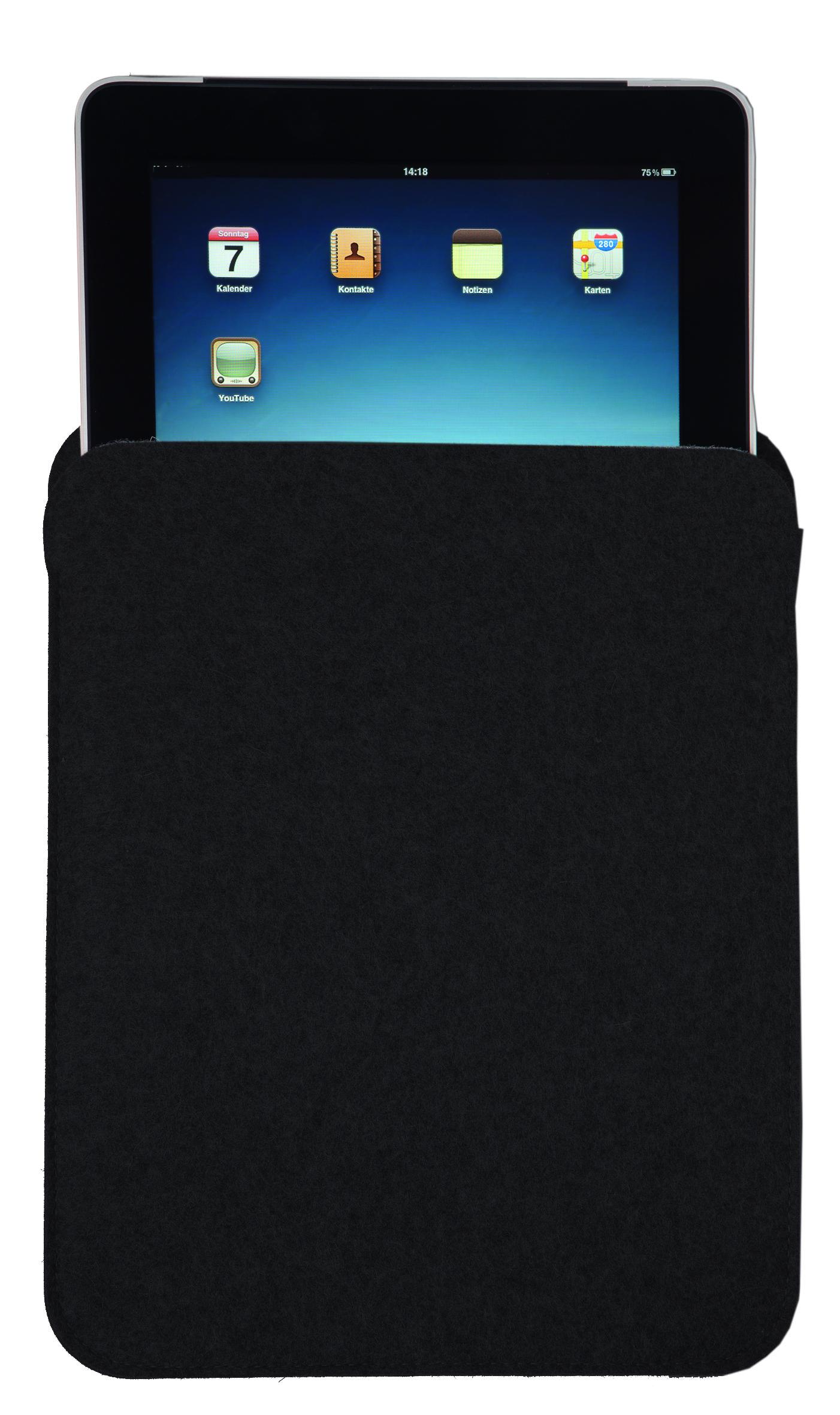 Wollfilz Tablet-PC Tasche