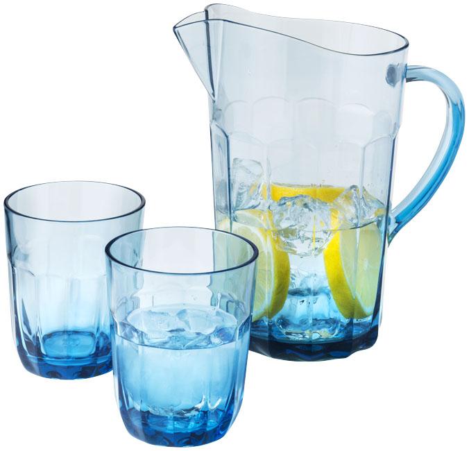 Krug mit 2 Gläsern