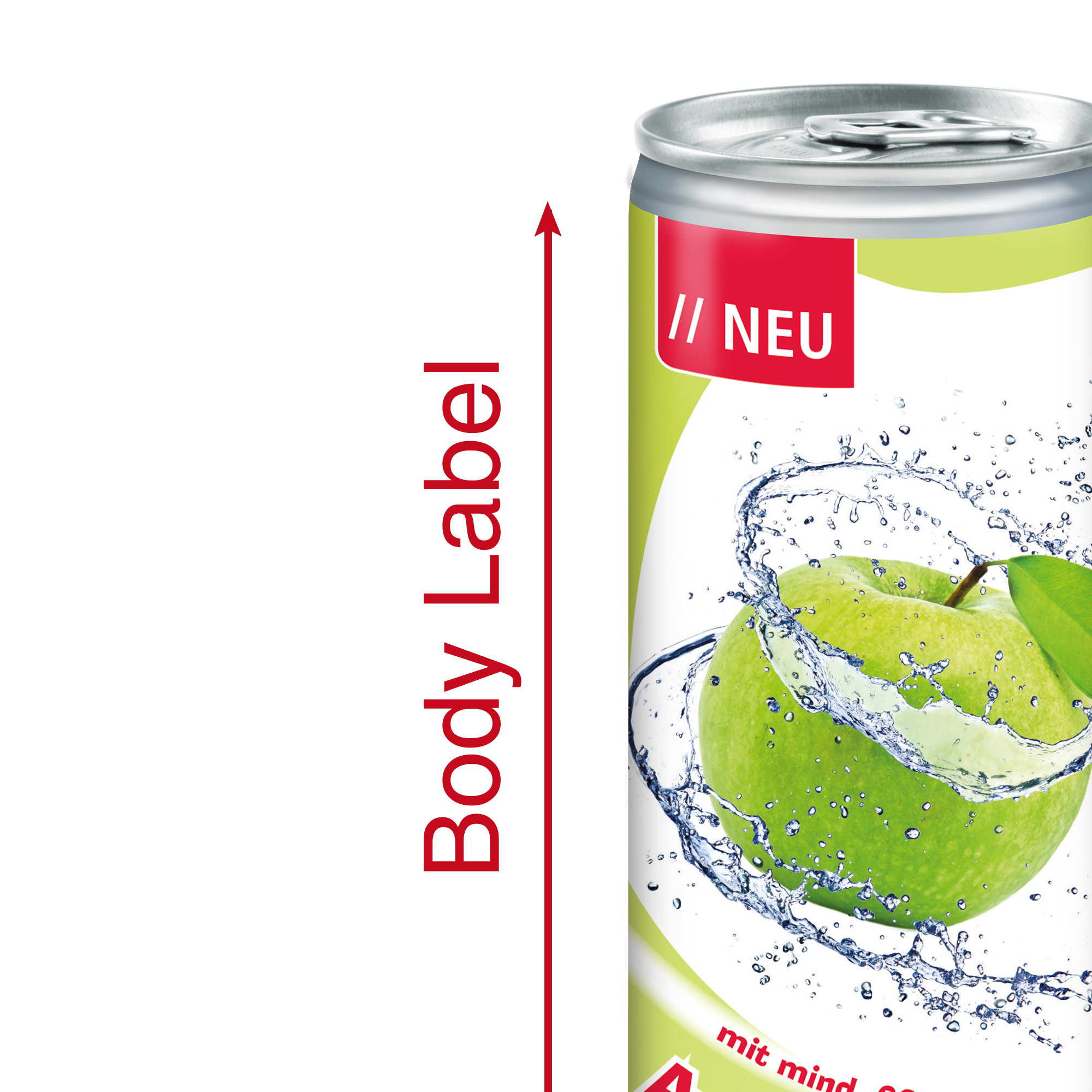 Apfelspritzer, 250 ml, Bo ...