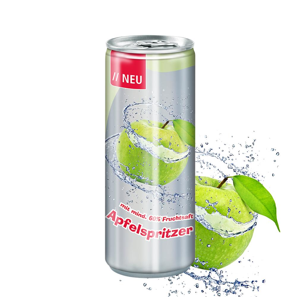 Apfelspritzer, 250 ml, Fu ...